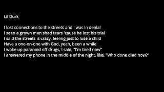 Future - Last Name ft. Lil Durk Lyrics