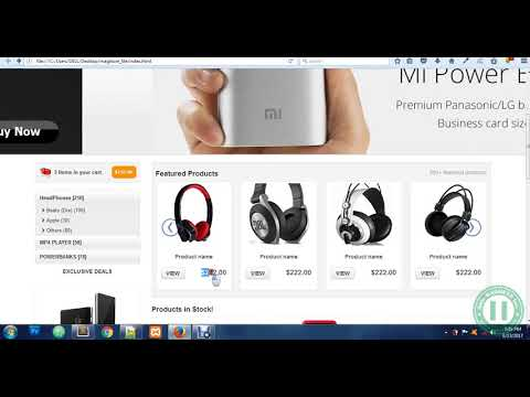 6 - Scrolling Featured Product Catalogue Design In HTML, BootStrap