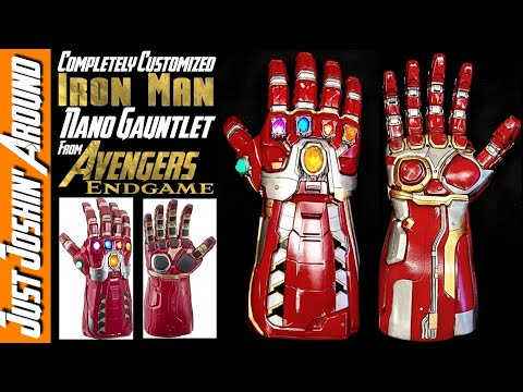 DIY Customization - Marvel Legends Iron Man Gauntlet From Avengers Endgame // Just Joshin' Around