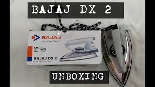 Bajaj DX 2 L/W Dry Iron   Flipkart Unboxing
