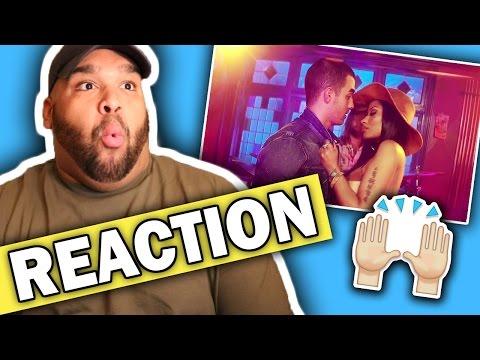 DNCE - Kissing Strangers ft. Nicki Minaj (Music Video) REACTION