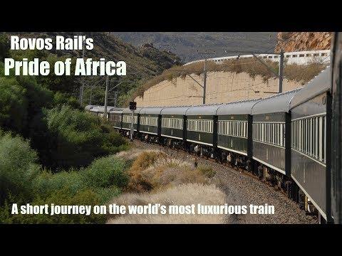 Pride of Africa train ride