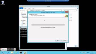 CRM 2011 Installation on Windows 2012