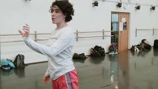Contemporary Dance Class by Yeri Anarika