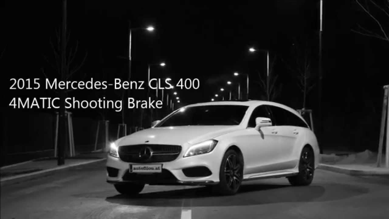 2015 mercedes benz cls 400 4matic shooting brake youtube. Black Bedroom Furniture Sets. Home Design Ideas