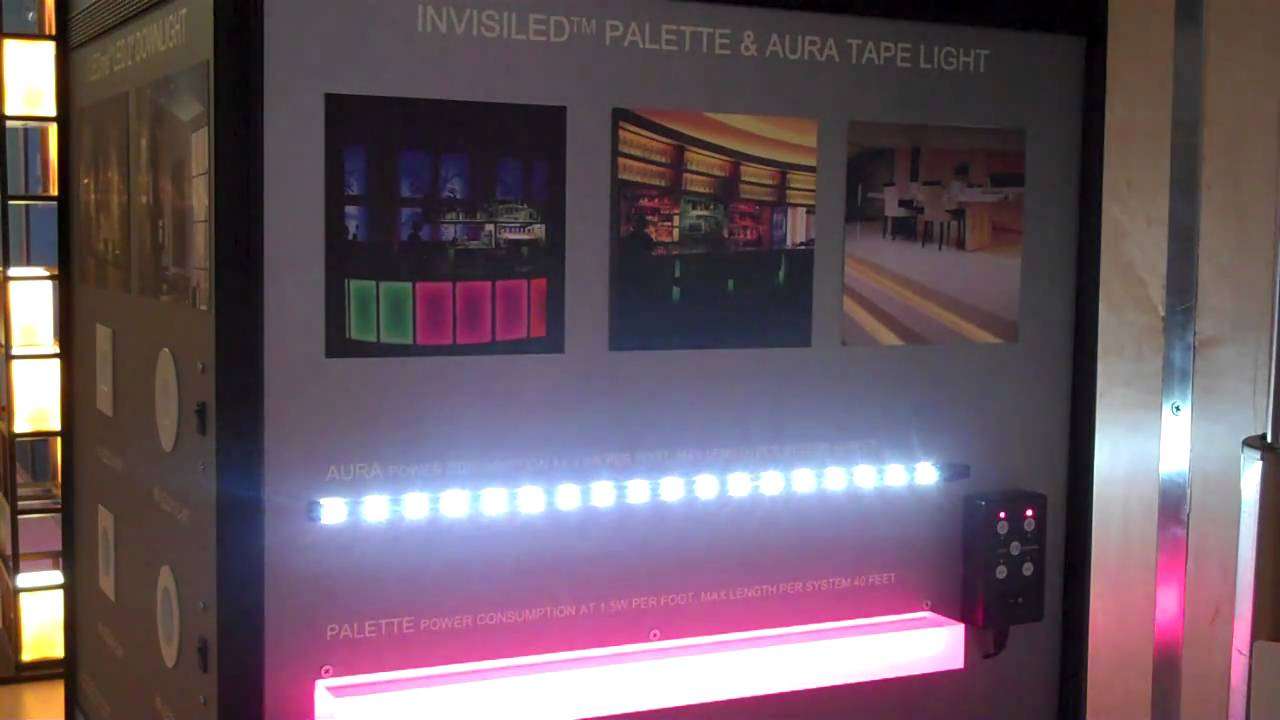 Savio Lighting: WAC InvisiLED LED Tape Strip - YouTube