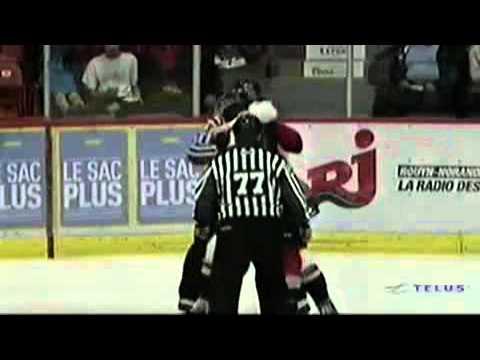 Ryan Graves vs Dillon Fournier Oct 5, 2013