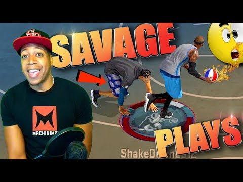 SHAKEDOWN's Most SAVAGE MyPark PLAYS of The YEAR! - NBA 2K17 Top Plays