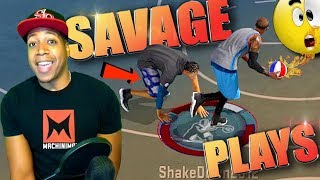 Video SHAKEDOWN's Most SAVAGE MyPark PLAYS of The YEAR! - NBA 2K17 Top Plays download MP3, 3GP, MP4, WEBM, AVI, FLV September 2017