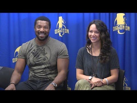 MGU: Roger Cross & Melissa O'Neil  Dark Matter Press Conference