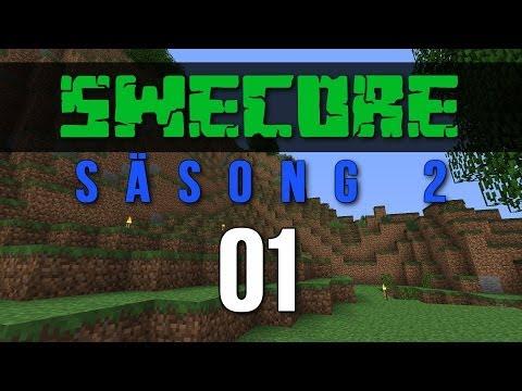 Minecraft Online på SweCore S2 EP #1: En helt ny värld! (Svenska)