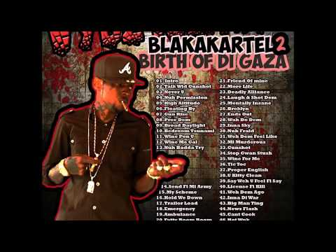 Vybz Kartel - Blakakartel 2 Birth of the Gaza Mixtape Mixed by Matthew Doops (Clean) (Nov 2013)