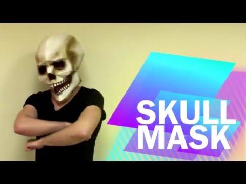 How to make Skull Mask from paper | DIY | Handmade