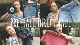Huge Pre-Fall Thrift Haul Thumbnail