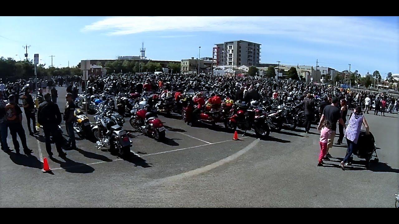 2015 Geelong Toy Run - Geelong Harley-Davidson toy run. - YouTube