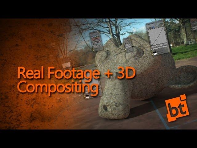 Camera Tracking: 3D + Real Video Compositing — blendtuts com