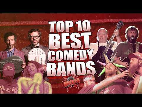Top 10 BEST Comedy Bands - Rocked - 동영상