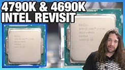 Intel i7-4790K & i5-4690K in 2020: Benchmarks vs. Ryzen 3600, 9700K