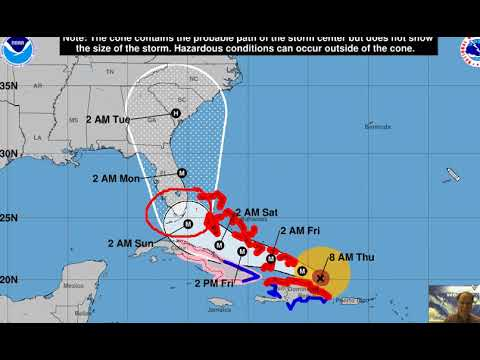 "Thursday 07 Sept 2017 ""Irma continues towards the Florida Straits"" by Vencore Weather"
