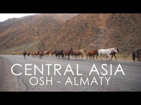 WO2W - Ep 12 - Bike Touring in Central Asia (Osh - Almaty)