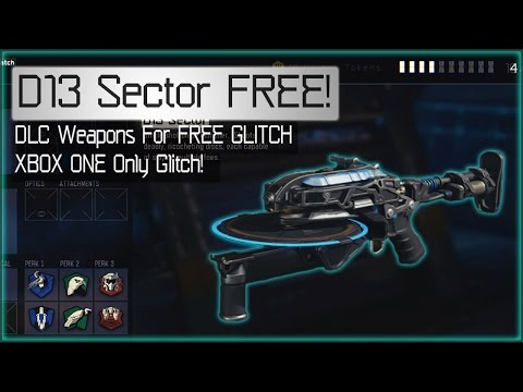 Black Ops 3 D13 Sector FREE GLITCH! (XBOX ONE) FREE DLC WEAPONS GLITCH TUTORIAL! (BO3 Glitches)