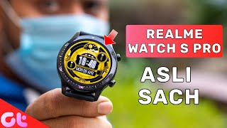 Realme Watch S Pro Review with Pros and Cons | Better Than Mi Watch ? | GT Hindi