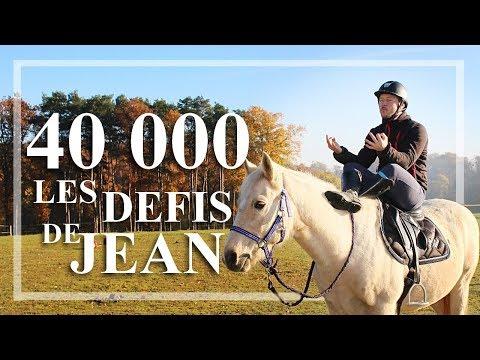 ON EST 40 000 ! Jean réalise vos defis.