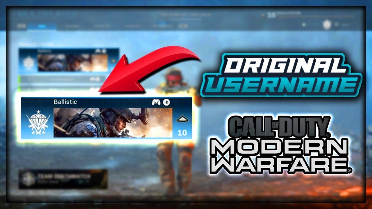 How To Get Any Og Gamertag Username In Call Of Duty Modern Warfare Beta Youtube