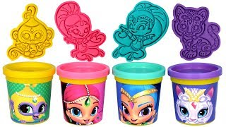 Shimmer and Shine Play Doh Molds & Toys Disney Princess Play Doh Can Heads Molds Play Doh Girl Games