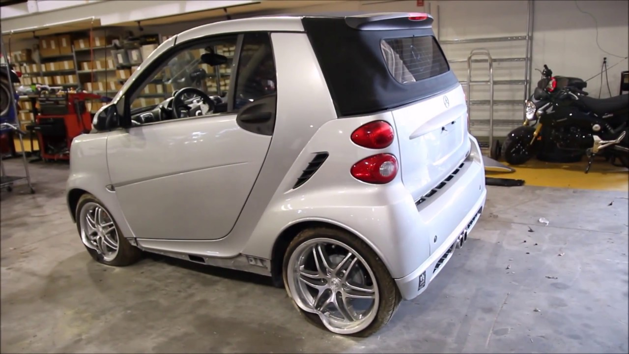 smart 2009 fortwo brabus youtube. Black Bedroom Furniture Sets. Home Design Ideas