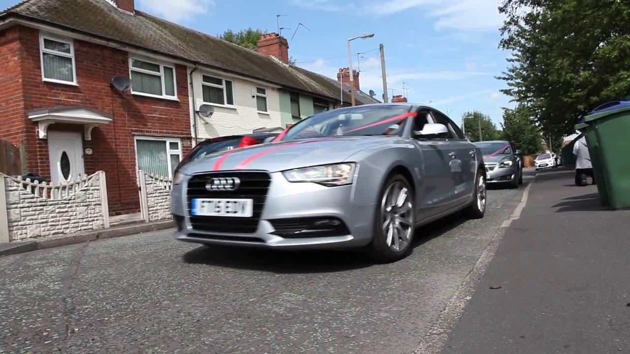 Asian Wedding car convoy (Birmingham Smethwick) - YouTube