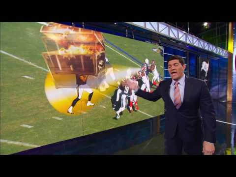 NFL LIVE TAPE OFF TEDY BRUSCHI VS MARK SCHLERETH