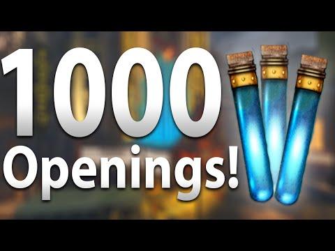 """QUAD DOUBLE PERKAHOLICS"" - 1000 Liquid Divinium Openings - Black Ops 3 Zombies: Gumball Opening"