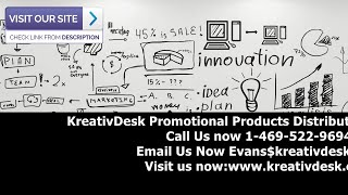 KreativDesk - Promotional Products Distributor in Frisco Texas -Tshirts, Polos, Sweats, Jackets