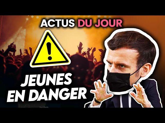Annonces de Macron sur les jeunes, étudiants en danger, la Chine a caché le virus... Actus du jour