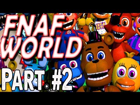 FNaF World Hard Mode CZ Let's Play Part 2