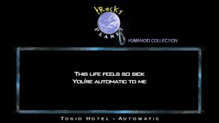 Automatic - Instrumental Version in the style of Tokio Hotel