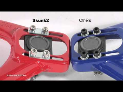 Skunk2 Racing Knowledge Base: Front Camber Kits for Honda Civic TSX Integra