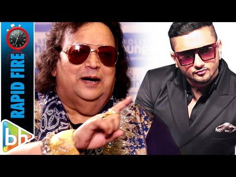 Bappi Lahiri's MUSICAL Rapid Fire On Hrithik Roshan | Yo Yo Honey Singh | Badshah