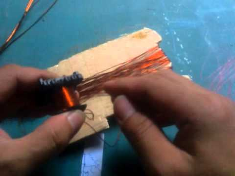 Making Coil For Ferrite Trafo (handmade)