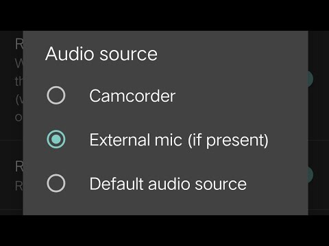How to connect external microphone on Android phone (Vivo V9)