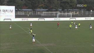 현대카드 키즈사커매치 IV 결승 - 골클럽 vs 요코하마 (3/4)