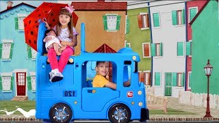 Wheels On The Bus - Nursery Rhymes song for Kids from Ksysha Kids TV
