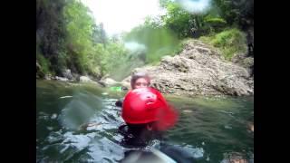Extreme canyoning fall Thumbnail