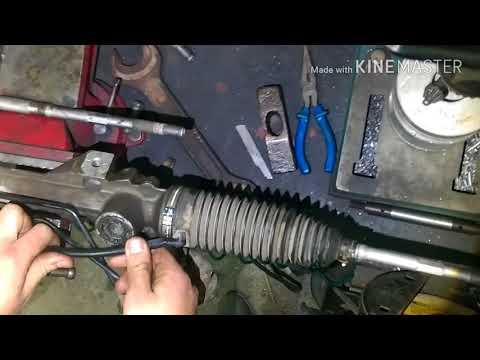 Замена рулевые тяг на Citroen C4