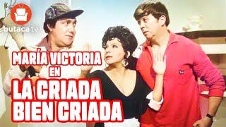 La criada bien criada - película completa do María Victoria, Guillermo Rivas, y 'Chabelo'