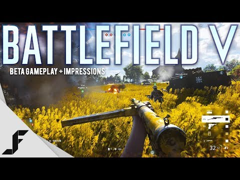 Battlefield 5 Beta Gameplay and First Impressions