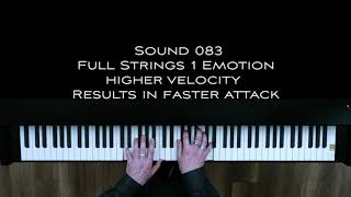 V3 Grand Piano XXL - Strings Orchestra Emotion Sound 083