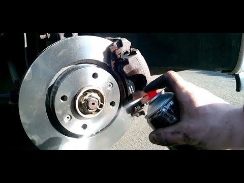 How to replace Front Brake Discs & Brake Pads Peugeot 307