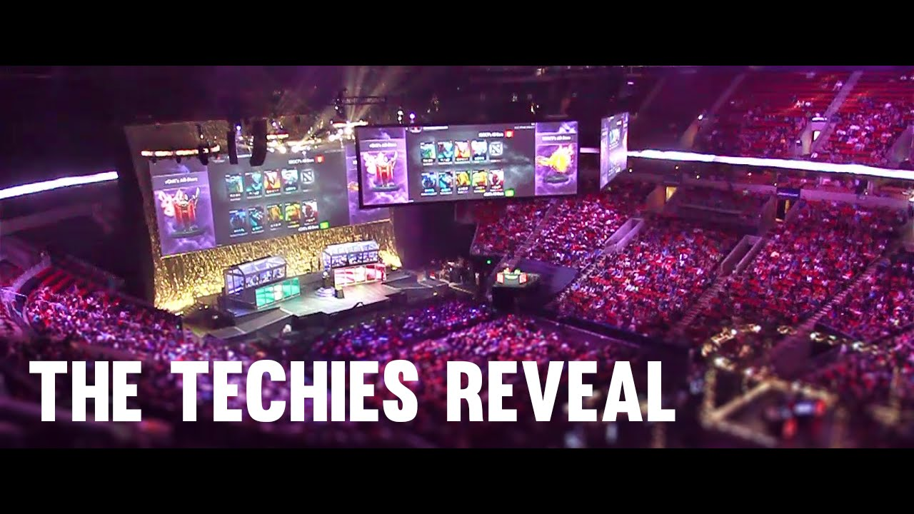 dota 2 the techies reveal ti4 crowd view from inside the